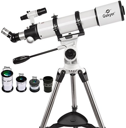 Telescopio Gskyer  Refractor Astronómico Az 600x90mm Alcanc