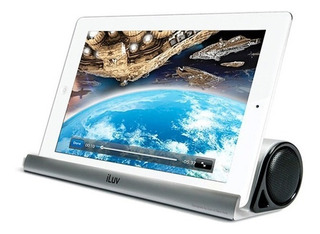 Parlante Bluetooth Para Tablet Celular Iluv Compatible Samsung iPad iPhone