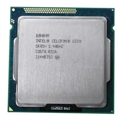 Processadores 1155 Celeron G530 2.4ghz Dual Core