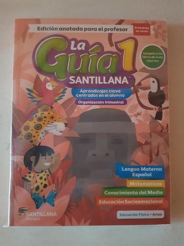Imagen 1 de 1 de Guía Santillana 1er Grado, Edición 2019 Contestada