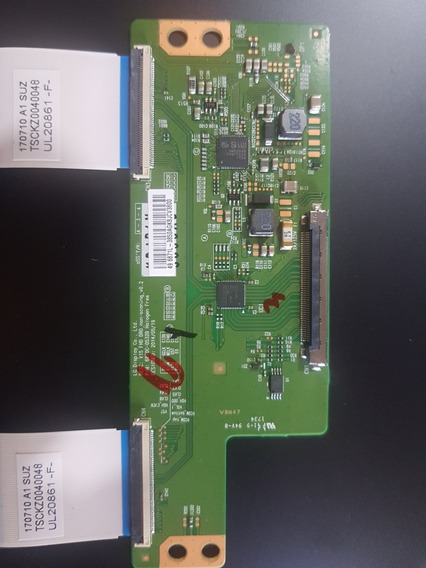 Placa T-con Tv Panasonic Tc-49es630b Nova