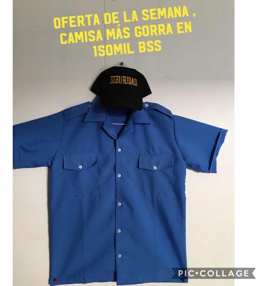 Uniforme De Vigilante Gran Oferta Camisa Más Gorra