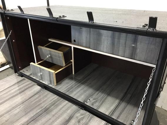 Caixa De Cozinha Para Caminhão 1,20 X 0,60 X 0,60 Mt