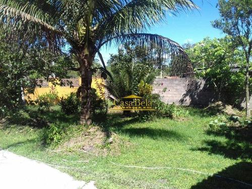 Chácara Com 4 Dormitórios À Venda, 3000 M² Por R$ 400.000,00 - Chacaras Gaivota - Itanhaém/sp - Ch0028