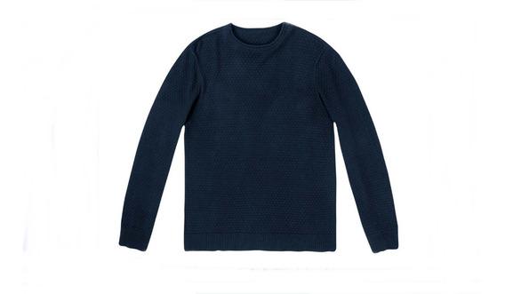 Blusão Masculino Em Tricô De Algodão Hering - 324ktwk