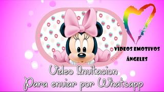 Tarjetas De Cumpleaños Minnie Bebe En Mercado Libre Argentina