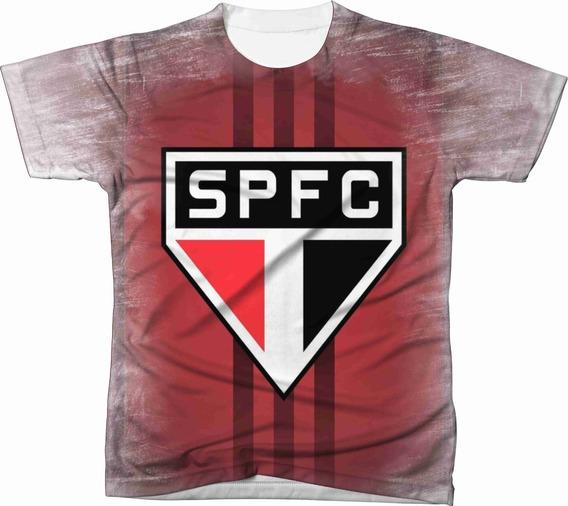 Camiseta Camisa Blusa São Paulo Futebol 003