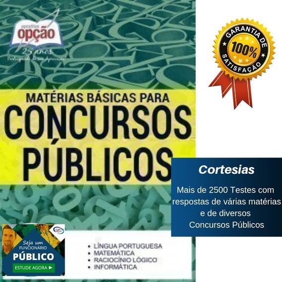 Apostila Matéria Básica Para Concursos Públicos