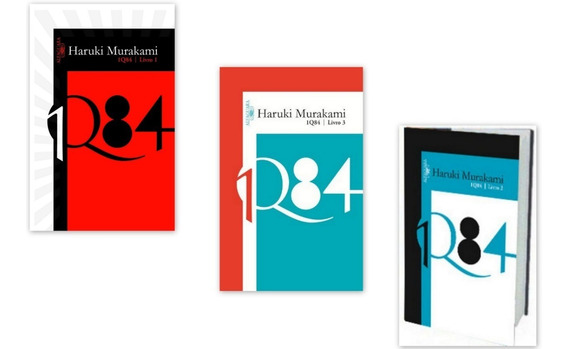 1 Q84 Kit De Livros Do 1 Ao 3 - Haruki Murakami 1q84