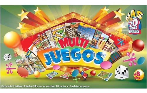 Imagen 1 de 4 de Juego De Mesa Fotorama Multijuegos Económico