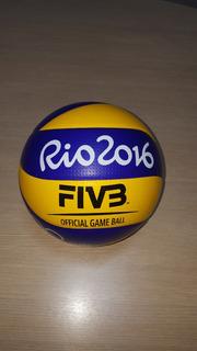 Bola De Volei Oficial Usada Olímpiadas Rio 2016 Com Suporte