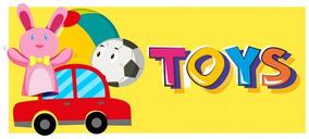 Brinquedos Variados Para Meninos E Meninas