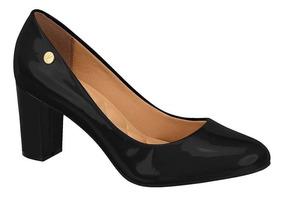 600f9d931 Scarpin Vizzano Salto Grosso Feminino - Sapatos com o Melhores ...