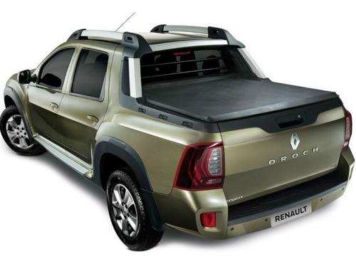 Imagen 1 de 9 de Carpa Plana Renault Duster Oroch Lona Enrolla Riel Aluminio
