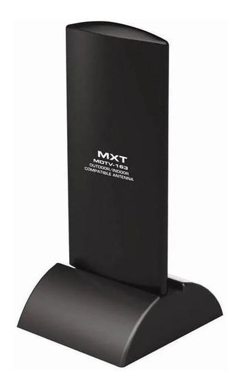 Antena Digital Hdtv Interna E Externa Amplificada Mdtv-163