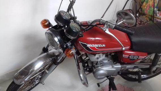Moto Cg Bolinha 125 Vermelha