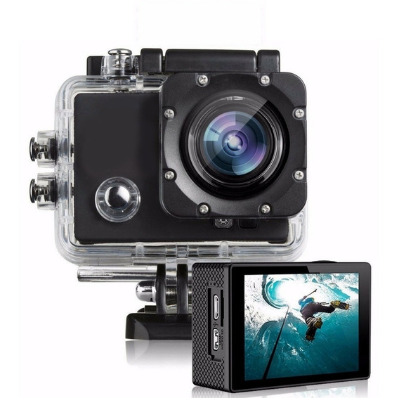 Camera Action Cam Go Sports Pro Full Filmadora