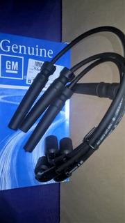 Cables De Bujia Juego Aveo Lanos Nubira 1.6 Gm Original