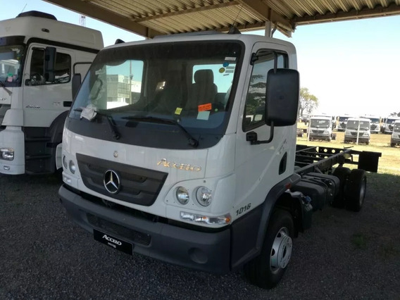 Mercedes-benz Accelo 1016 Chassi 3,90 Ou 4,60 2019