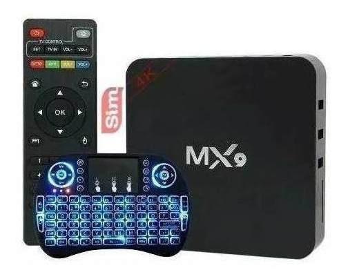 Tv Box Vários Canais Smart 4k Pro 3gb/16gb + Mini Teclado