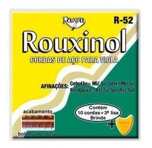 Imagem 1 de 6 de Encordoamento Rouxinol Para Viola R 52