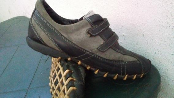 Oferta Zapatos Casuales Caballero Cuero Gamuza 40