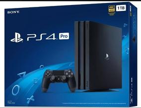 Playstation 4 Pro 1tb 7215b Ps4 Pro 4k Original (leia Desc)