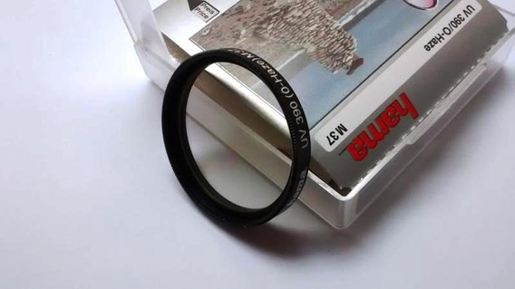 Filtro Uv Para Cameras De Video E Foto, Diametro 37mm