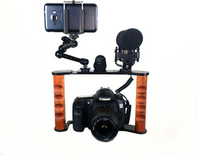 Estabilizador Jm Vintage P/câmera Dslr Canon Nikon Sony