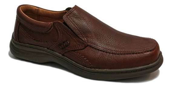 Zapato Elastico Cuero Hombre 45/50 Free Comfort 6049
