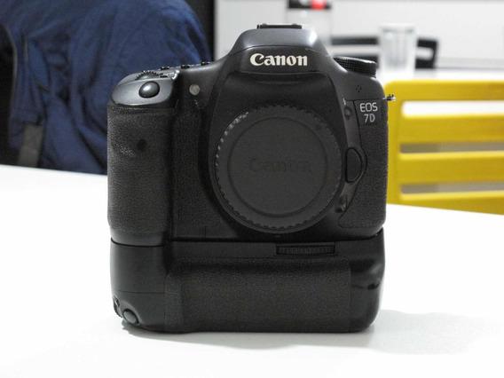 Cânon 7d + Grip Com Bateria
