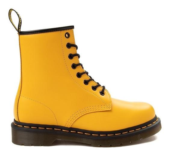 Botas Dr Martens 1460 8-eye Color Pop Boot Amarillas Unisex