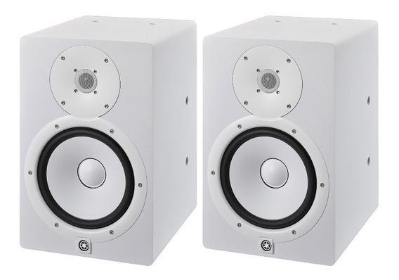Monitor Yamaha Hs8 Modelo I Branco Par 110v Atelie Do Som