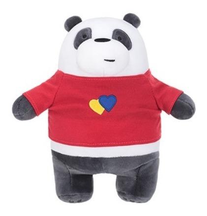 Pelúcia Ursos Sem Curso Miniso - Panda