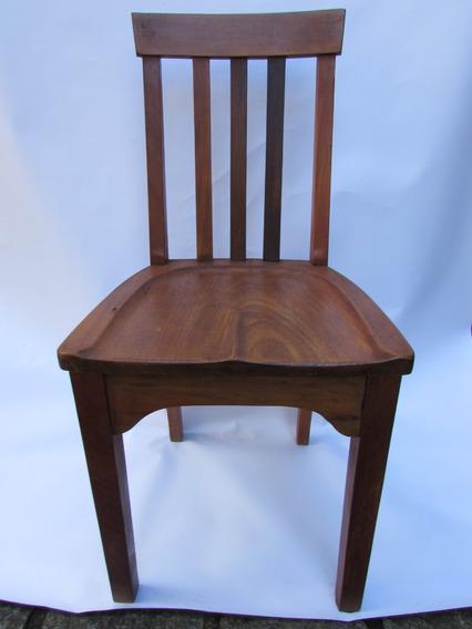 Cadeira De Escrivaninha Em Peroba Do Campo