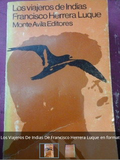 Libro Viajeros De Indias De Francisco Herrera Luque