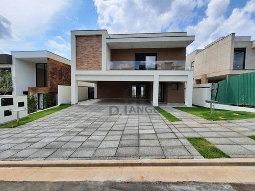 Casa Com 5 Dormitórios À Venda, 470 M² Por R$ 3.200.000,00 - Alphaville Dom Pedro 2 - Campinas/sp - Ca14527