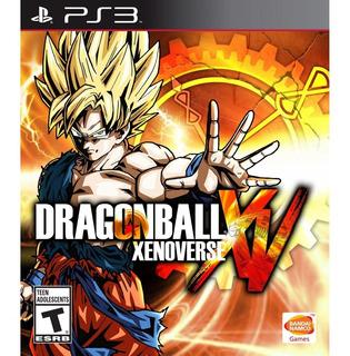 Dragon Ball Xenoverse Digital Latino Ps3