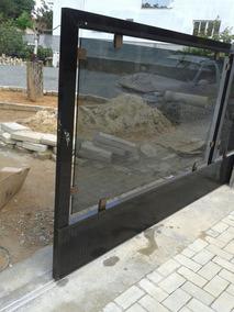 Grapa De Alumínio 1334 P/ Muro De Vidro Temperado Kit 10 Uni