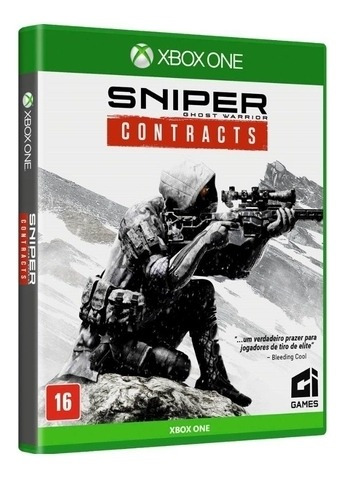 Jogo Mídia Física Sniper Ghost Warrior Contracts Xbox One