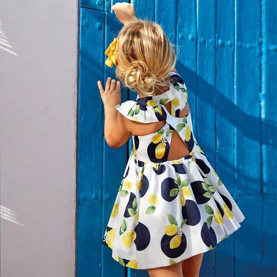 Vestido Estampado Niña