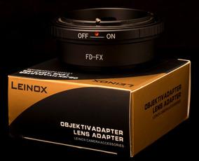 Anel Adaptador Lente Canon Fd Para Fuji X Fx