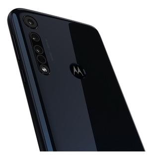 Smartphone Motorola One Macro 64gb Azul Espacial - 4g 4gb Ra