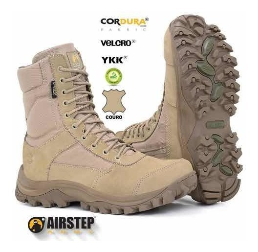 Bota Tática Easy Boot Light Com Zíper Lateral Airstep