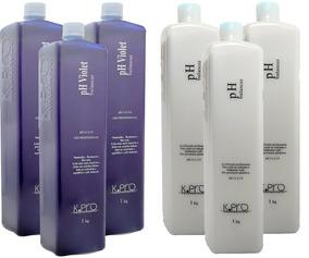bba9919129 Kit 3 Ph Balancer Acidificante 1kg + 3 Ph Violet 1kg K Pro