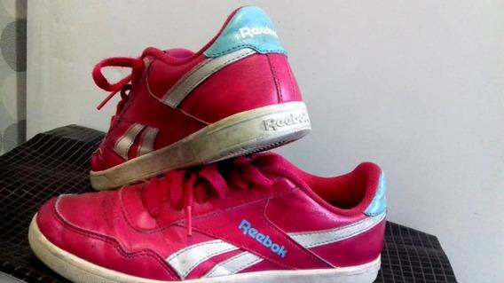 Tenis Reebok Royal Effect Pink E Azul