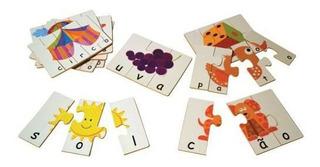 Brinquedos Educativos - Jogo Soletrando 48 Peças