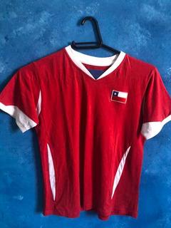 Camisa Futebol Infantil Chile