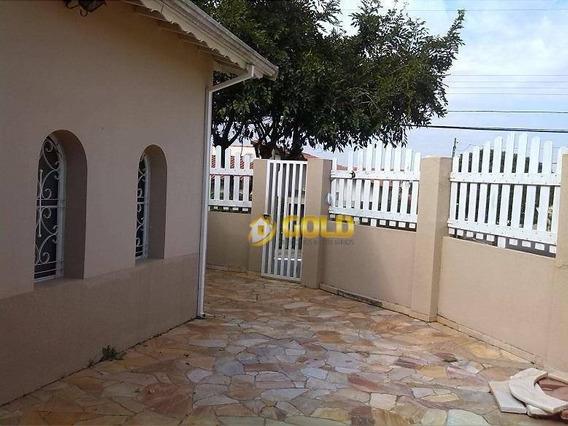 Casa Com 3 Dormitórios À Venda, 100 M² Por R$ 370.000,00 - Jardim Planalto - Paulínia/sp - Ca0085