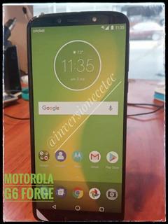 Teléfono Motorola G6 Forge